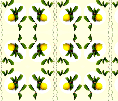 Lemon Refreshment fabric by robin_rice on Spoonflower - custom fabric