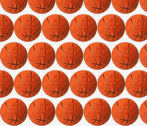 Expressionist_of_basketball fabric by vos_designs on Spoonflower - custom fabric