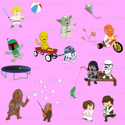 Star Wars Kids - Lavender