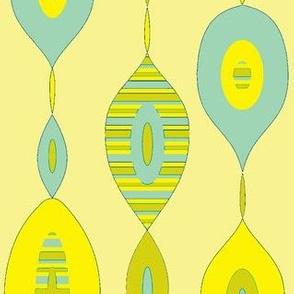 Mod Links w/stripe (Bronze/aqua)