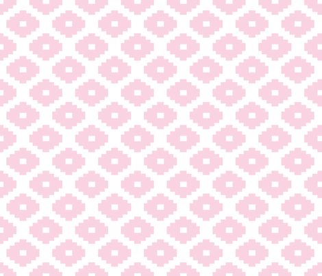 Aztec Blossom fabric by honey&fitz on Spoonflower - custom fabric