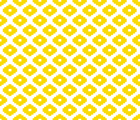 Aztec Sunshine fabric by honey&fitz on Spoonflower - custom fabric
