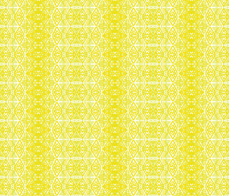 A_wallpaper_design_in_Lemon_lime_embossed fabric by art_on_fabric on Spoonflower - custom fabric