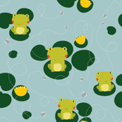 Froggy pattern