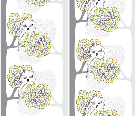 hoot_sweet fabric by tracyachtelik on Spoonflower - custom fabric
