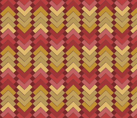 chevron squares spice mix fabric by glimmericks on Spoonflower - custom fabric