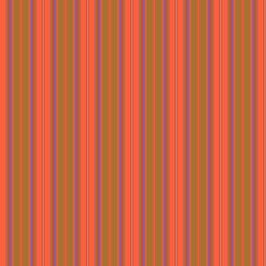 Somerville Stripe in Orange