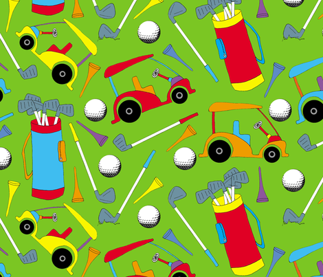 golfpattern17 fabric by joojoostrees on Spoonflower - custom fabric