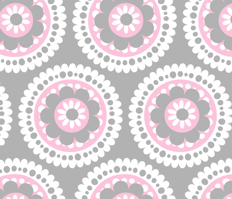jb_flower_motif_F_rpt fabric by juneblossom on Spoonflower - custom fabric