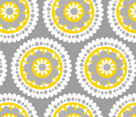 jb_flower_motif_G_rpt fabric by juneblossom on Spoonflower - custom fabric