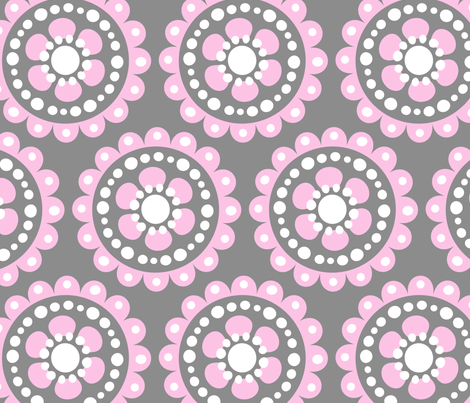 jb_flower_motif2_C_rpt fabric by juneblossom on Spoonflower - custom fabric