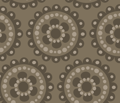 jb_flower_motif2_F_rpt fabric by juneblossom on Spoonflower - custom fabric