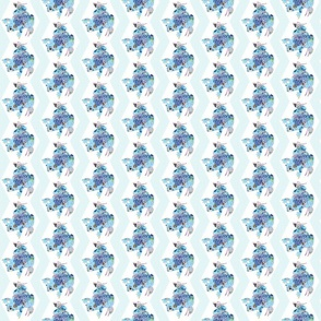 A Patchwork Frog Chevron