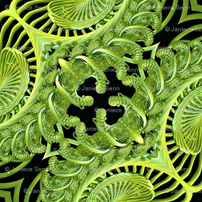 The Green Corset companion fabric