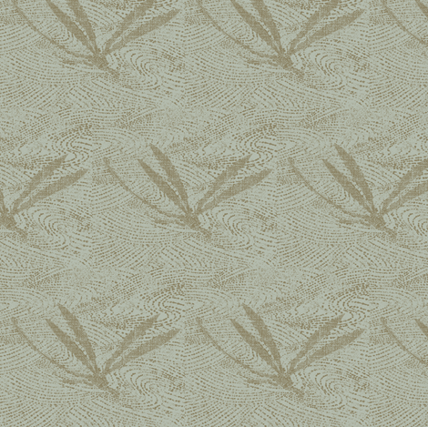 dragonfly on pond - gray, taupe