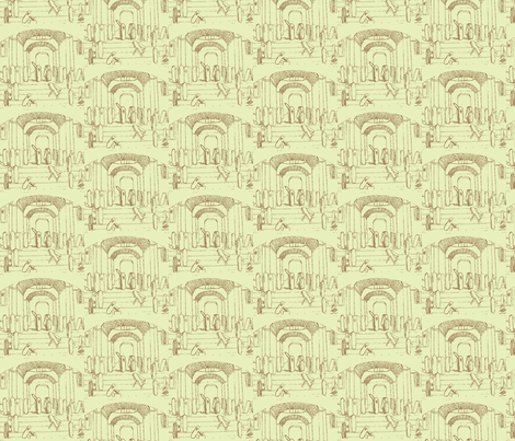 School of Athens fabric by amyvail on Spoonflower - custom fabric