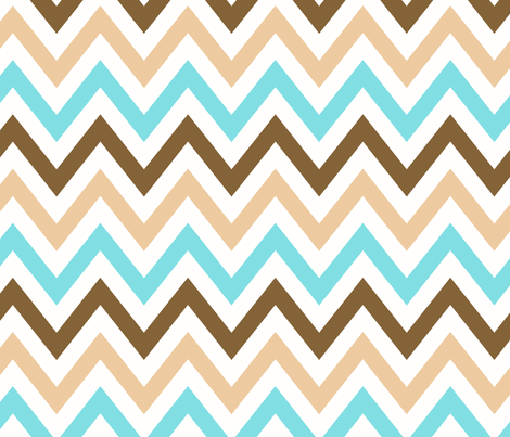 multi_chevron_2 fabric by juneblossom on Spoonflower - custom fabric
