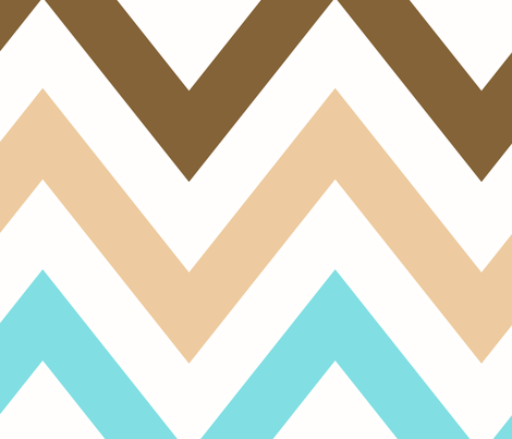 multi_chevron_2_LRG fabric by juneblossom on Spoonflower - custom fabric