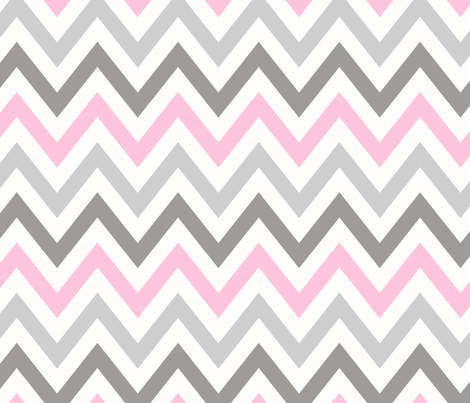 multi_chevron_3 fabric by juneblossom on Spoonflower - custom fabric