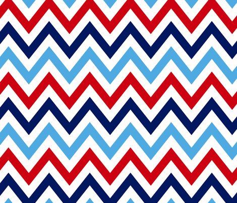 multi_chevron_5 fabric by juneblossom on Spoonflower - custom fabric