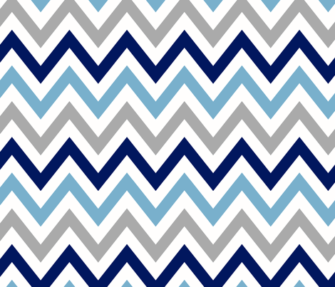 multi_chevron_8 fabric by juneblossom on Spoonflower - custom fabric