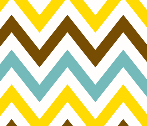 multi_chevron_14_MED fabric by juneblossom on Spoonflower - custom fabric