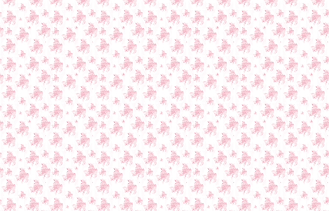 A PInk Shabby Chic frog fabric by karenharveycox on Spoonflower - custom fabric