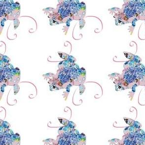 A Pink Princess Frog