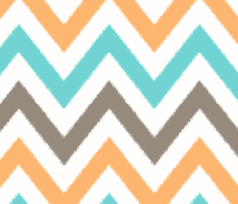 FUNKY_CHEVRON_2 fabric by juneblossom on Spoonflower - custom fabric
