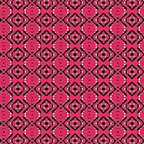 coral pink diamond bandana 2