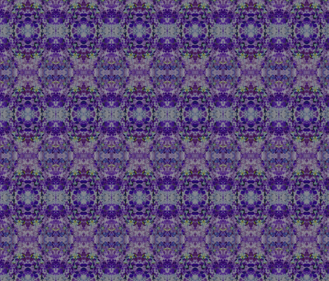 Columbine Floral Abstraction #2 fabric by bad_penny on Spoonflower - custom fabric