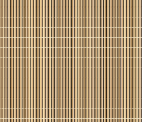 Bamboo mat fabric by blondfish on Spoonflower - custom fabric