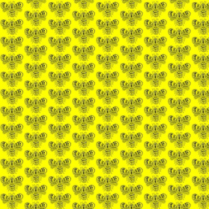 BeeHappy - sm - yellow