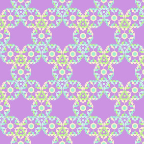 Abstract Pastel Lace Pattern