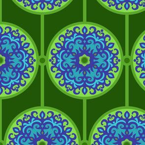 Oriental Round Ornament