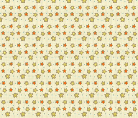 kids-flowers fabric by gaiamarfurt on Spoonflower - custom fabric