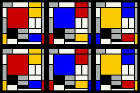 DeStijl fabric by zaffra on Spoonflower - custom fabric