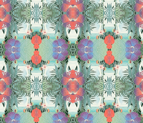 frog kingdom fabric by kociara on Spoonflower - custom fabric