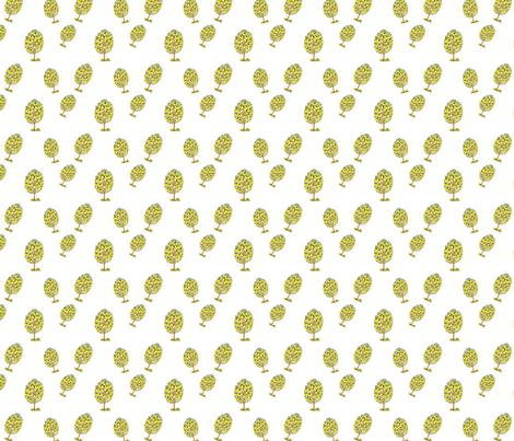 Lemony Love fabric by cottontreelane on Spoonflower - custom fabric