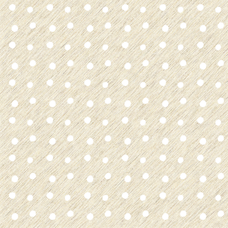 White Dots on cream