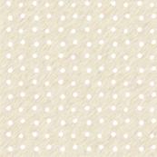 White Dots on cream