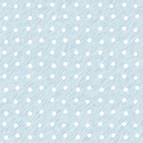 White Dots on Textured Blue