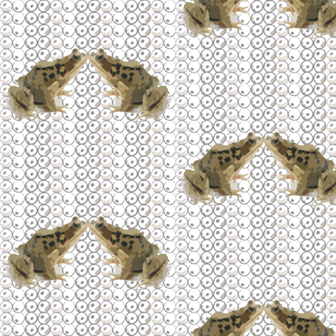 Ribbit Ribbit fabric by sarah_jane_jackson on Spoonflower - custom fabric