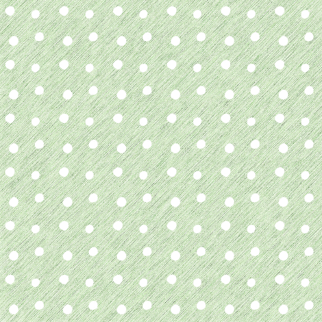White dots on Textured Green