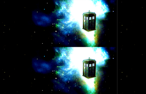 Tardis Galaxy fabric by charmcitycurios on Spoonflower - custom fabric