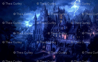 Hogwarts in Blue