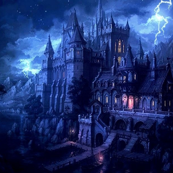 Hogwarts in Blue