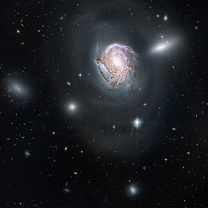 NGC 4911 Coma Cluster