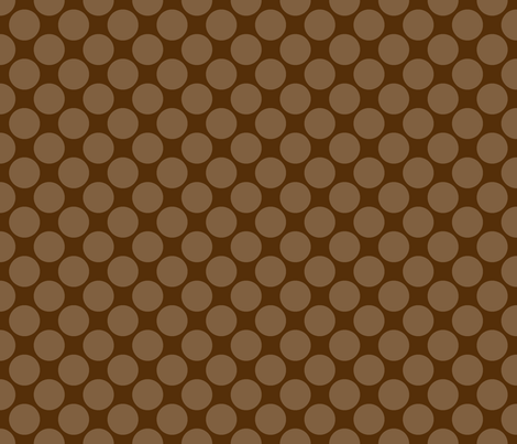 Mocha Polk  fabric by mayabella on Spoonflower - custom fabric