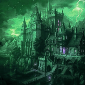 Hogwarts in Green